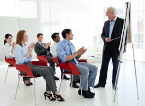 Fear of public speaking can be overcome