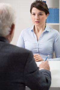 Performance anxiety during an interview