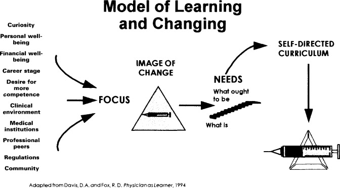 Facilitating learning and change in physicians