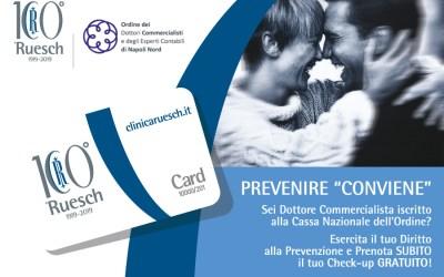 Check-up gratuito per i Commercialisti iscritti alla Cassa Nazionale (Reale Mutua / Blue Assistance)