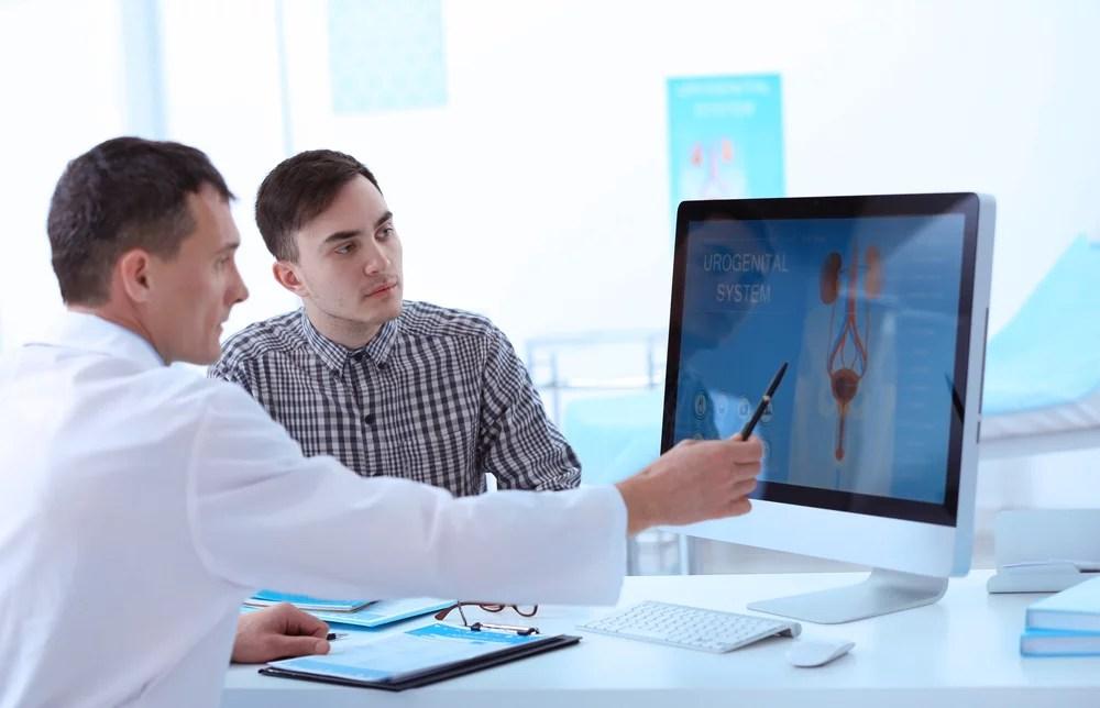 paciente con cáncer de próstata