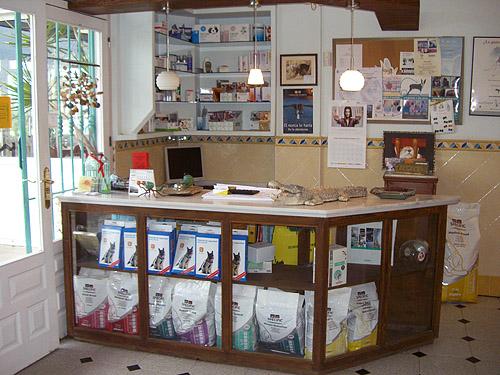 Clinica Veterinaria Mojcar  Paseo por la clnica