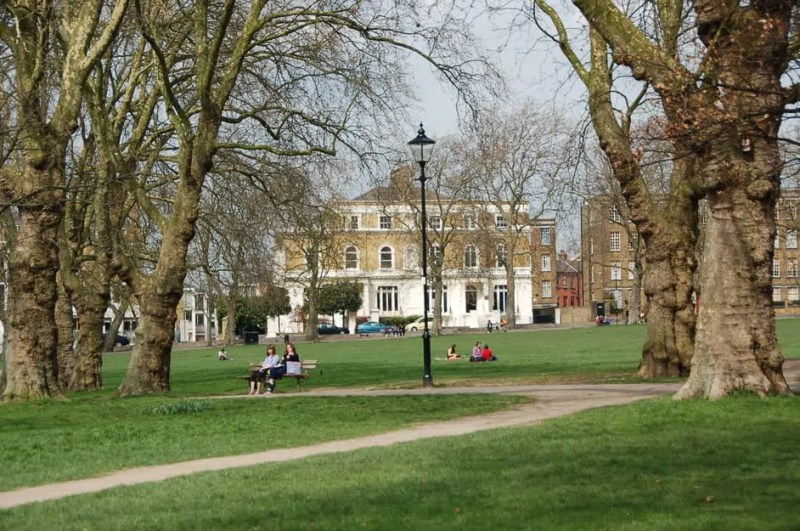 Highbury fields Barbecue parks in London Clink Hostels