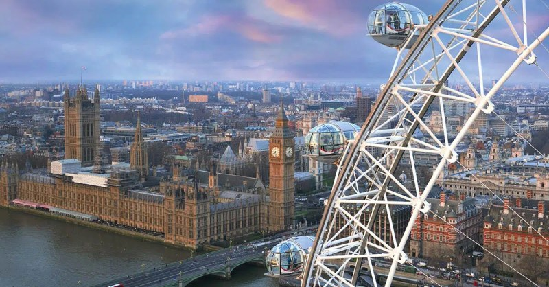Sketch the London Eye Top things to do this June Clink Hostels