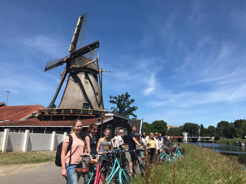ClinkNOORD Bike Tour in Amsterdam NOORD | 10 Ridiculously Fun Things To Do With Your Friends In Amsterdam | Clink Hostels