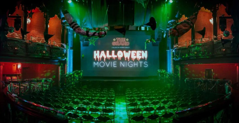 Halloween Movie Nights at The Clapham Grand | Halloween in London | Clink Hostels