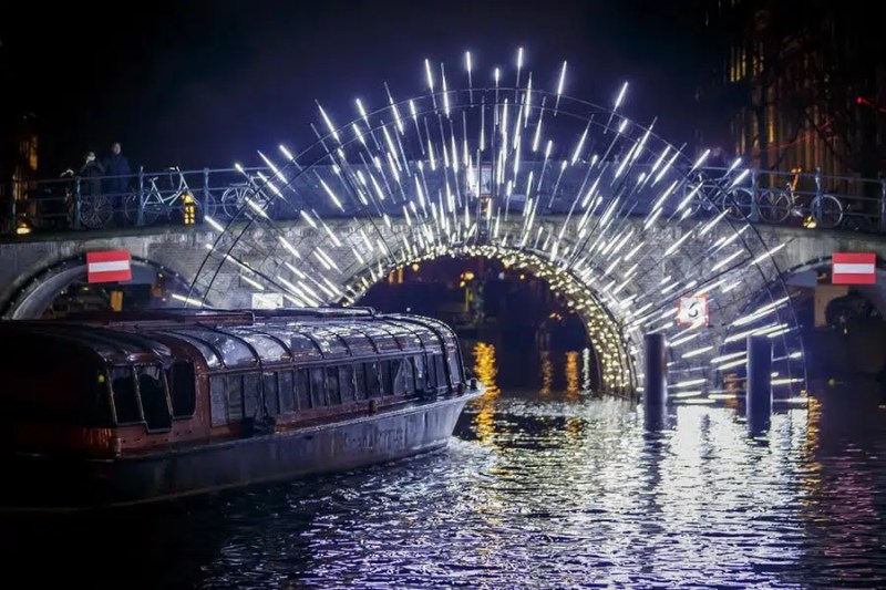 Amsterdam Lights What to do for Christmas in Amsterdam Clink Hostels