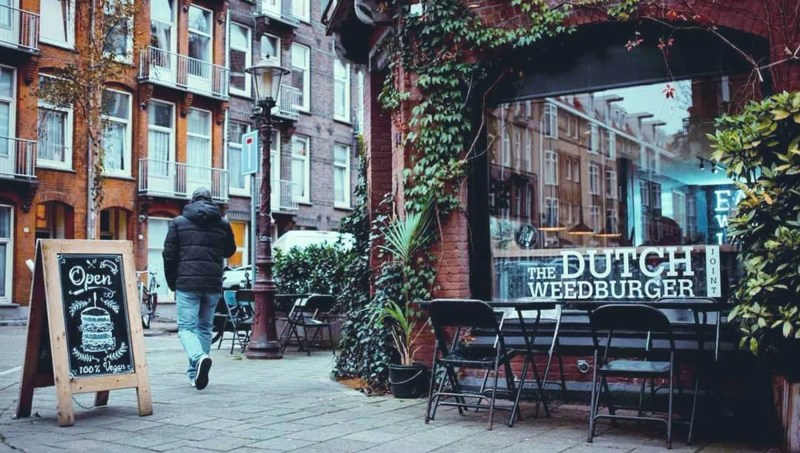 The Dutch weed burger The Best Vegan Restaurants in AmsterdamClink Hostels