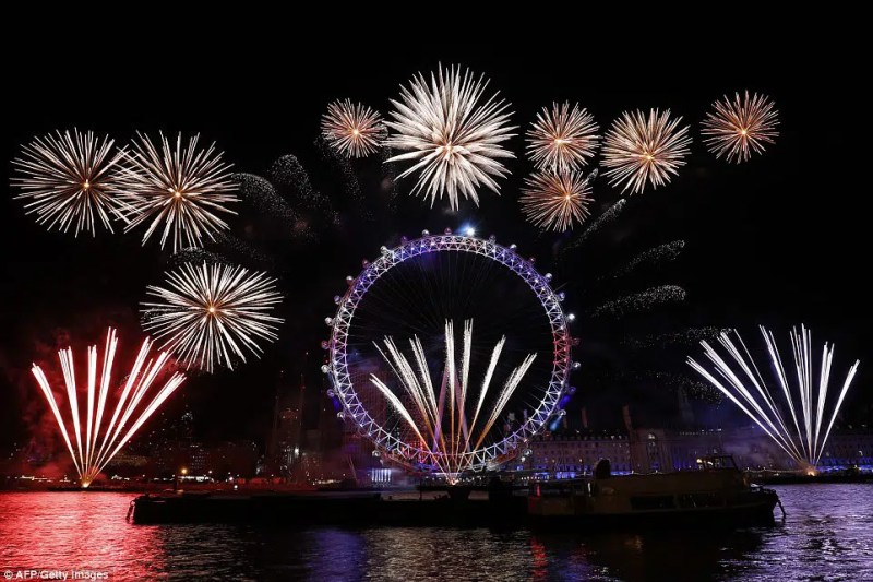 London Fire Wokrs What to do in London this New Years Eve Clink Hostels