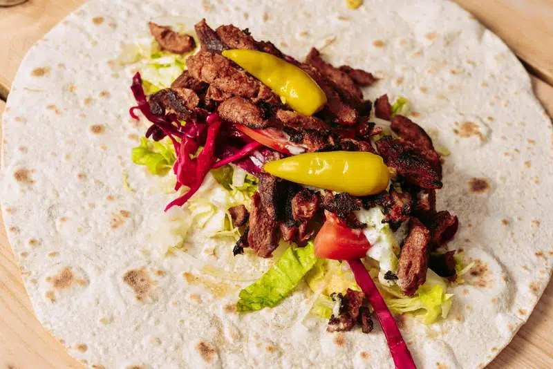 What the Pitta Vegan Food in London Clink Hostels