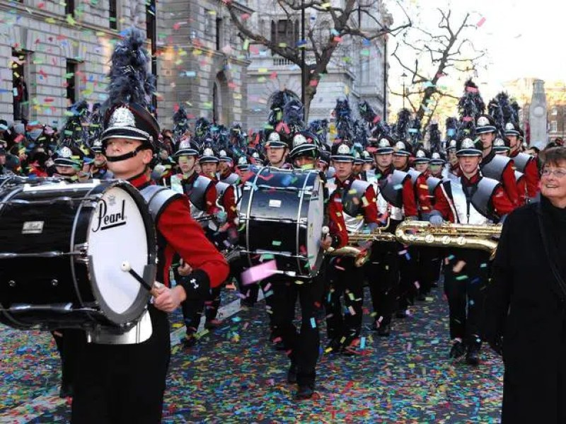London New Years Day Parade Clink Hostles