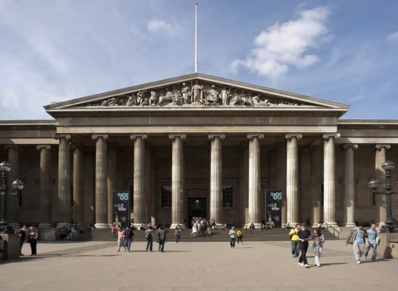 The British Musem Top things to do in Kings Cross Clink Hostels