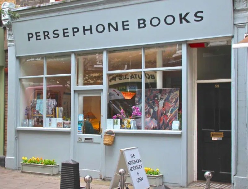 Persephone Books The Best Bokkshops in London Clink Hostles