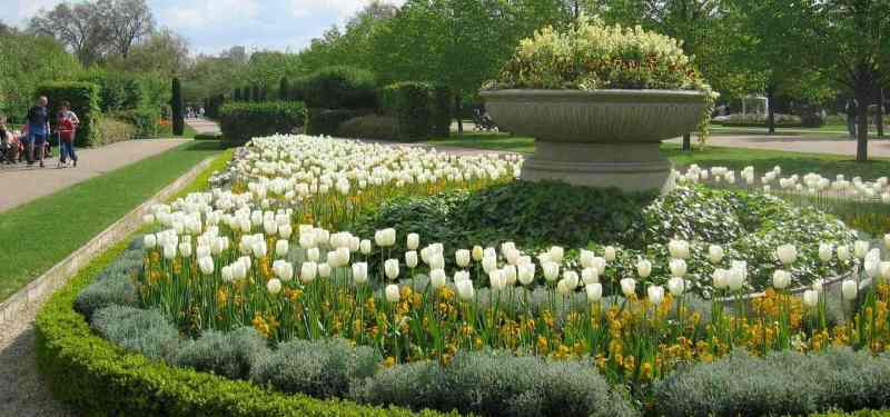 Regents Park Easter in London