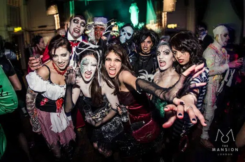 Halloween Ball @ The Mansion London