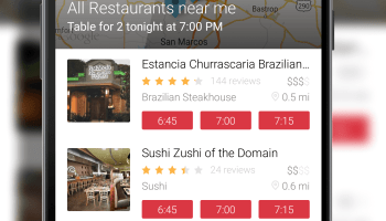 OpenTable Update Brings Waitlist Feature At Supporting Restaurants - Open table app for android