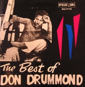 Don Drummond:The Best Of:albumcover.......