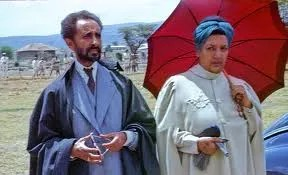 Emperor Haile Selassie & Empress Menen