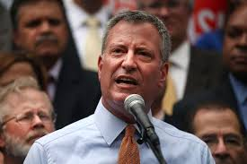 Mayor Bill DeBlasio