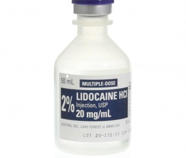 Lidocaine 2 50ml Mdv