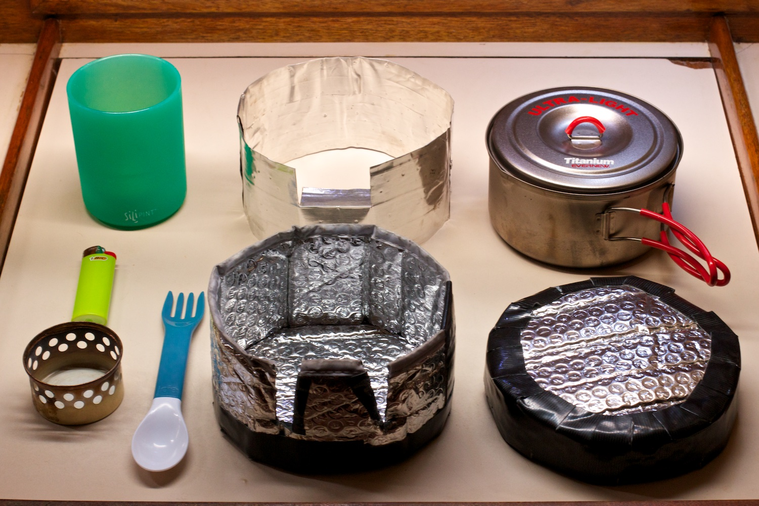 Backpacking Cook Gear