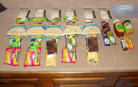 Lone Star Hiking Trail Thru-hike Food Supply