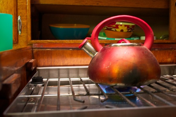 Tea Kettle from a Child's POV