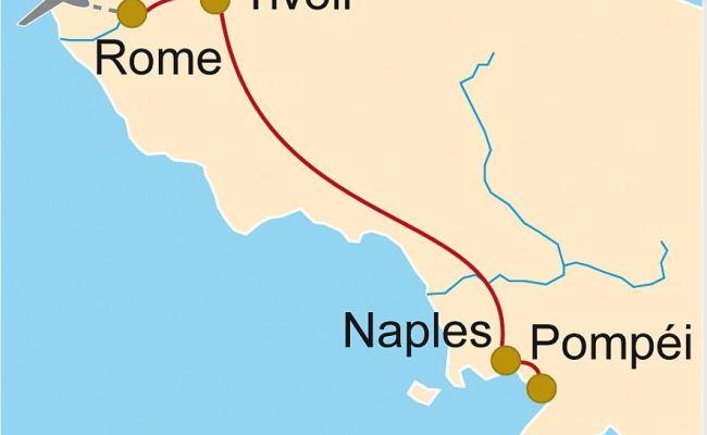 It 435 Rome Naples Et Pompéi En Famille Clio Voyage