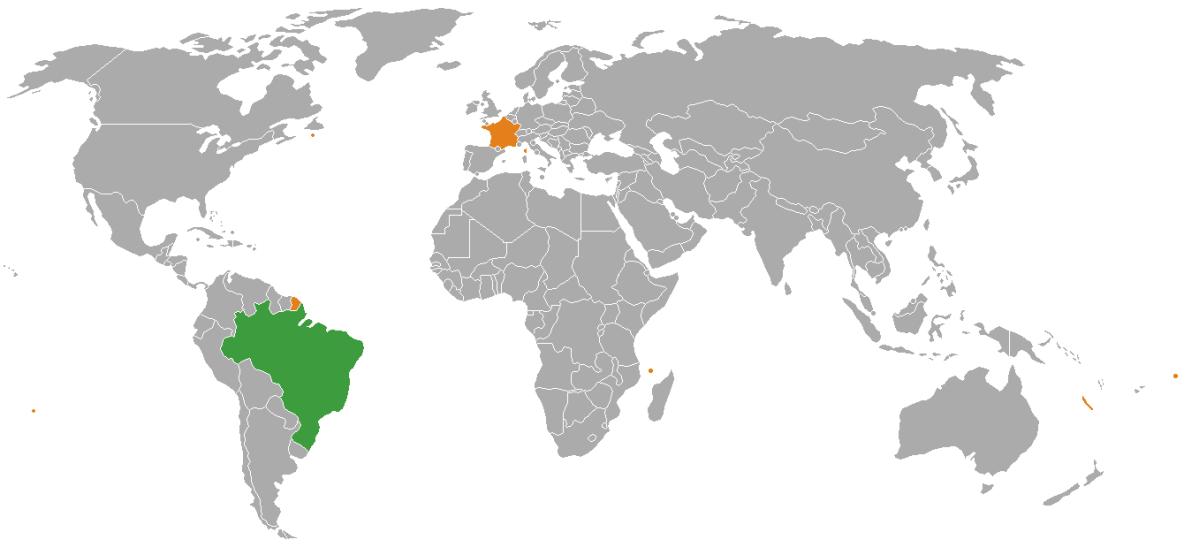 10 différences entre la France et le Brésil