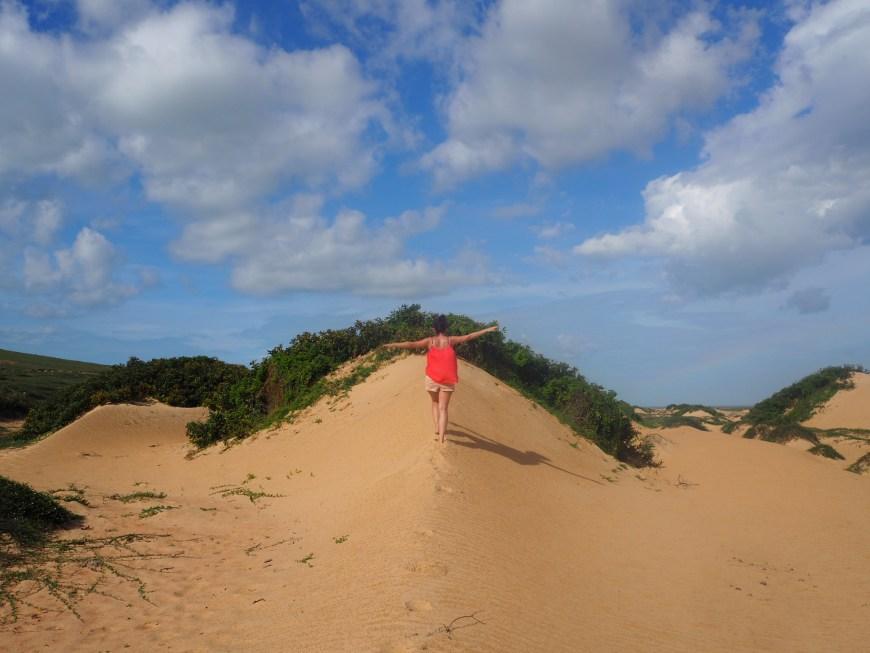 Les dunes de sables. Jericoacoara, Ceara, Brésil.