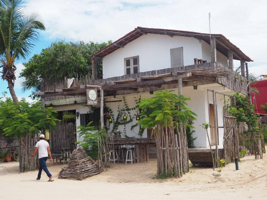 Le village de Jericoacoara, Ceara, Brésil