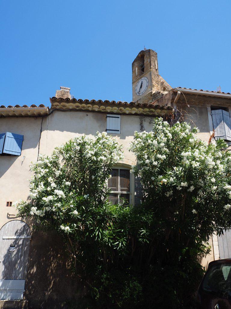 Village de Lourmarin dans le Luberon, Vaucluse. PACA.