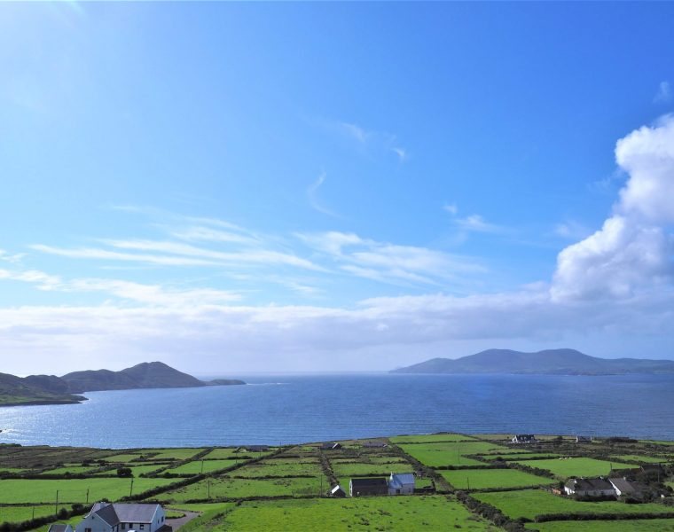 magnifique vue sur Ring of Kerry, Irlande