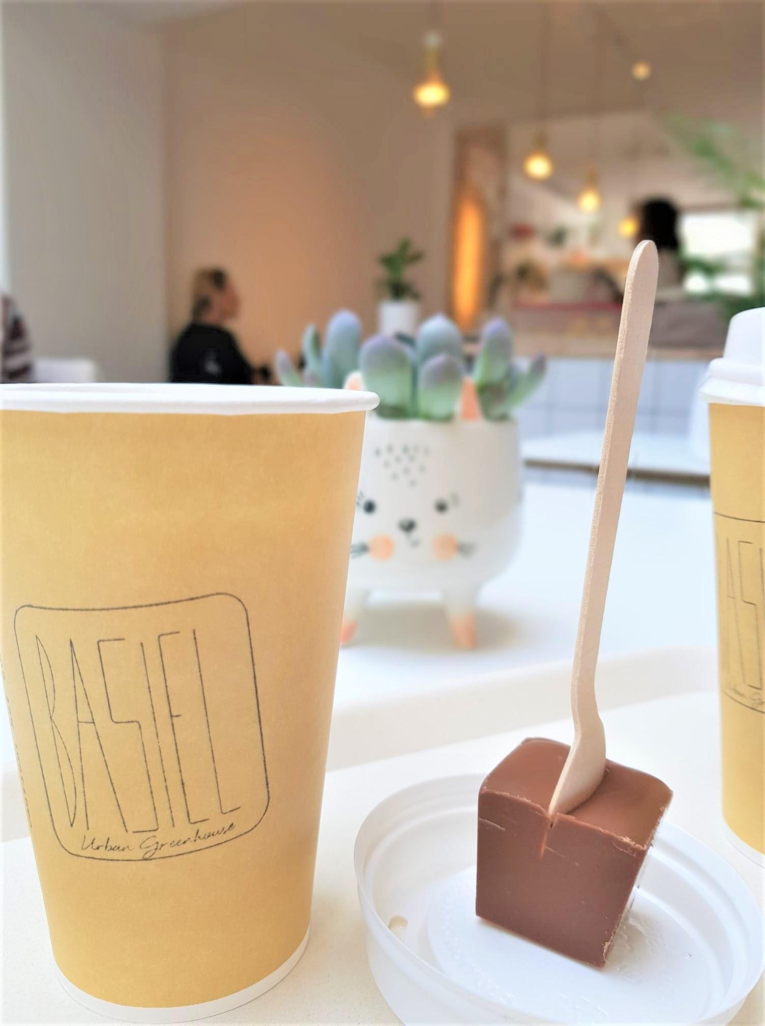 Bruges-Belgique-Blog-voyage-Clioandco-Bruges-café-Basiel-urban-green-house-chocolat-chaud