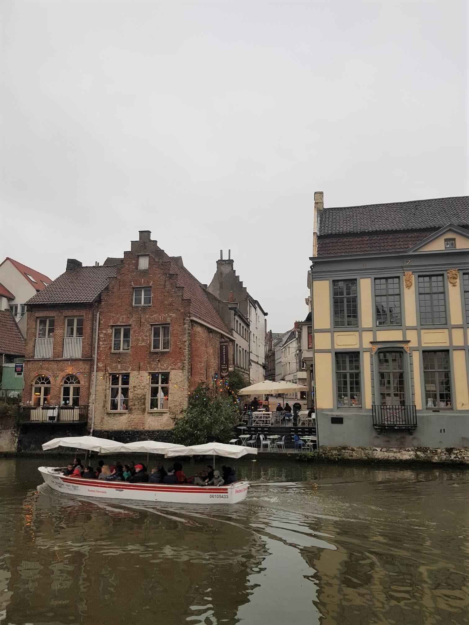 Gand belgique visite tour en bateau blog voyage clioandco