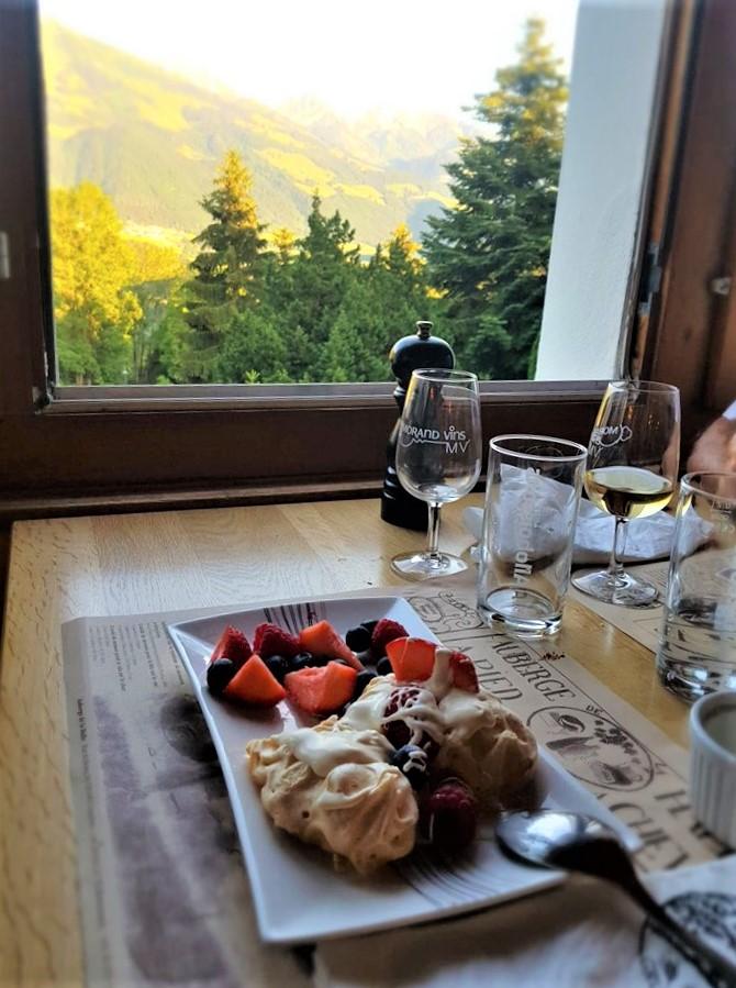 Guyères suisse l'auberge de la halle restaurant