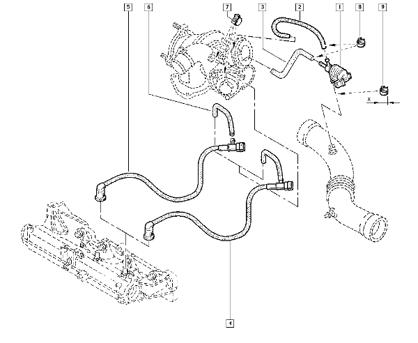 Picture of part no. (for those with Renault dialogys