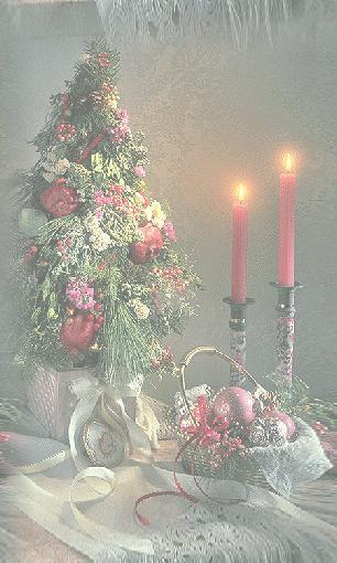 Weihnachten Speisekarte