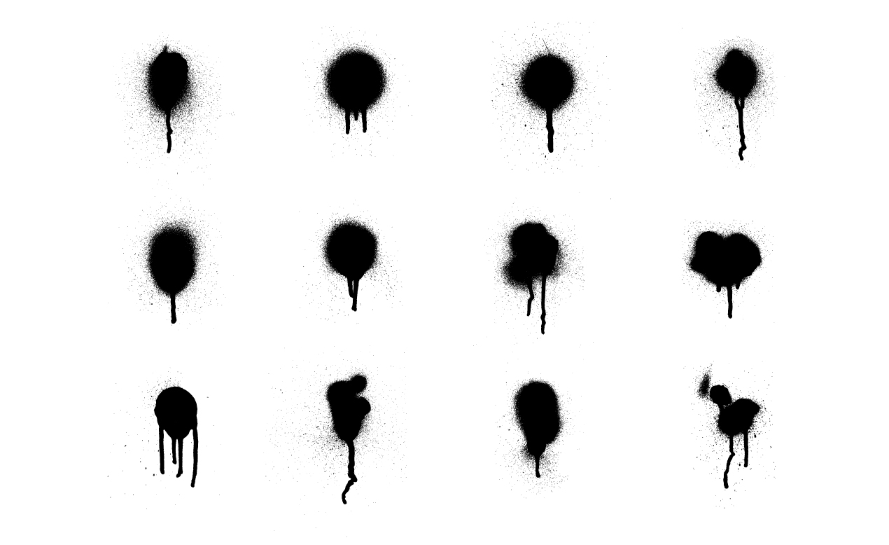 Spray Paint Splatter