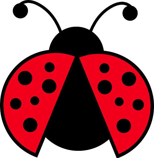 cute ladybug - clipart