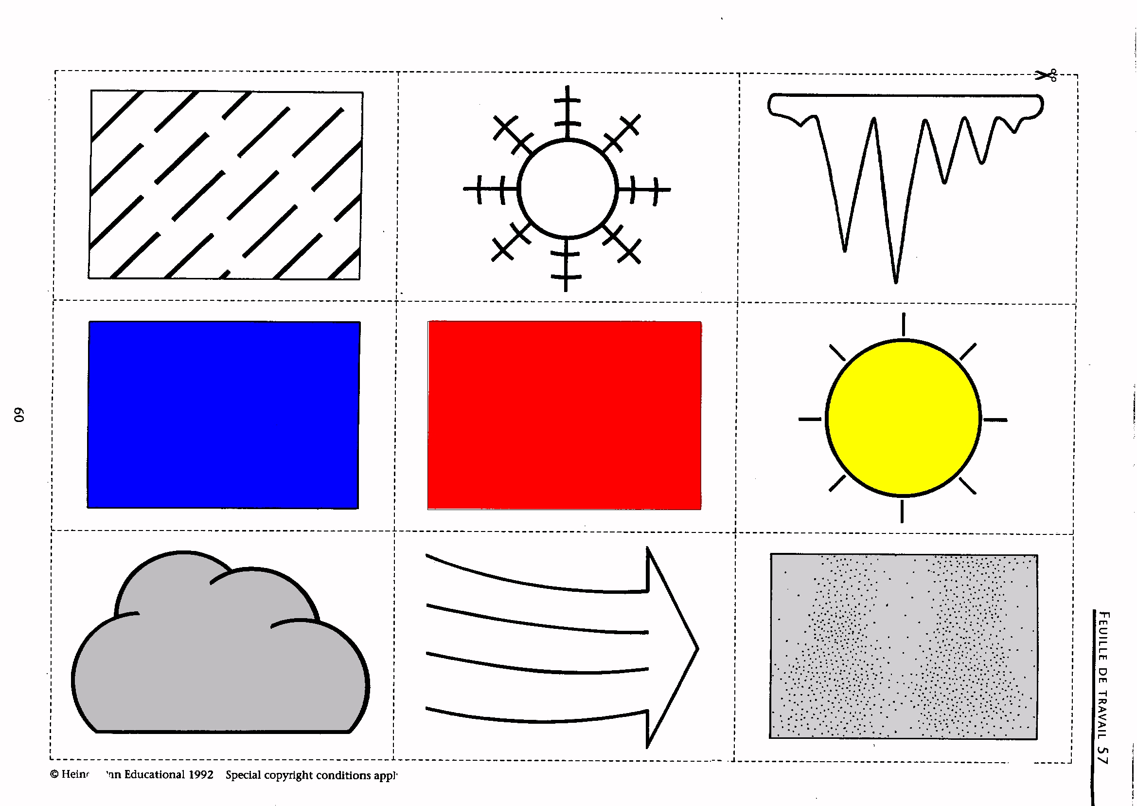 Weather Symbols For Kids