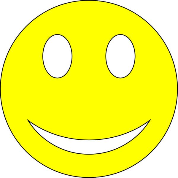 Big Smile Emoticon - Clipart
