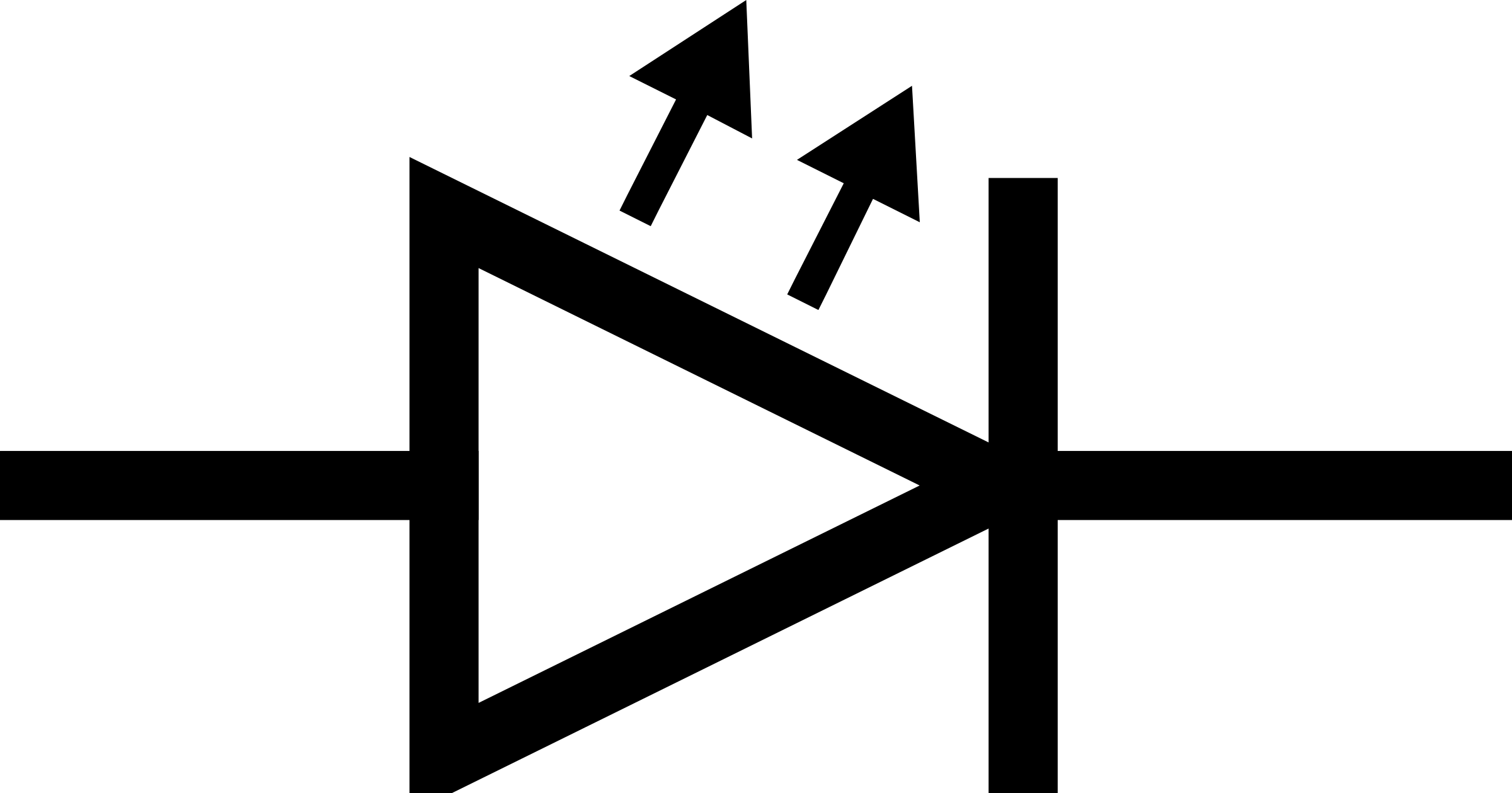 Resistor And Led Symbol