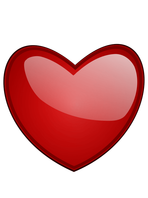 find of hearts - clipart