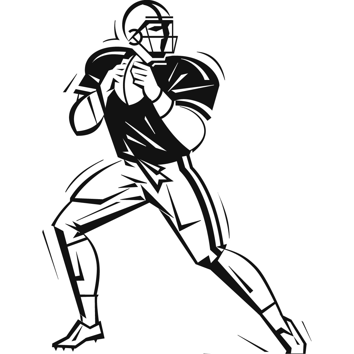 American Football Sport And Hobbies Wall Art Stickers