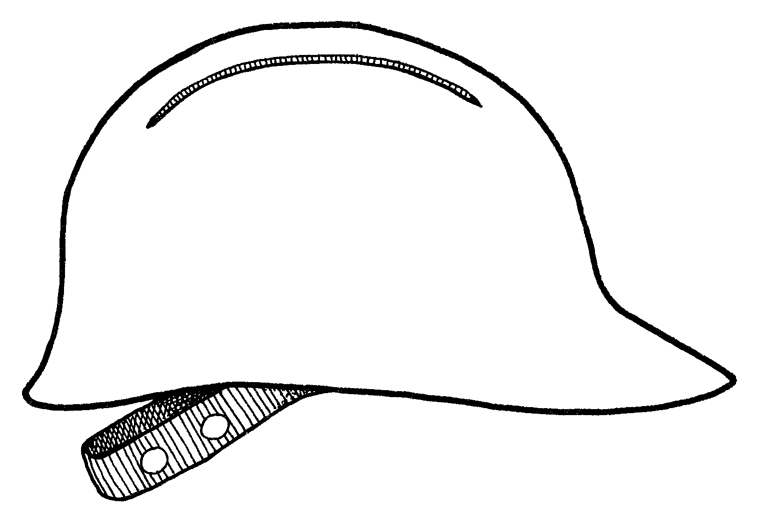 Construction Worker Hat Coloring