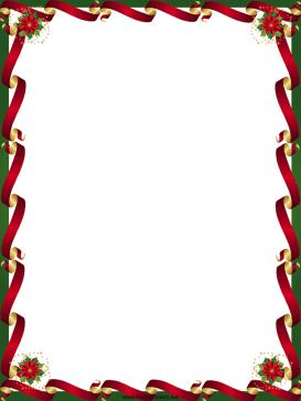 christmas borders microsoft