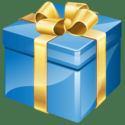 birthday present - clipart