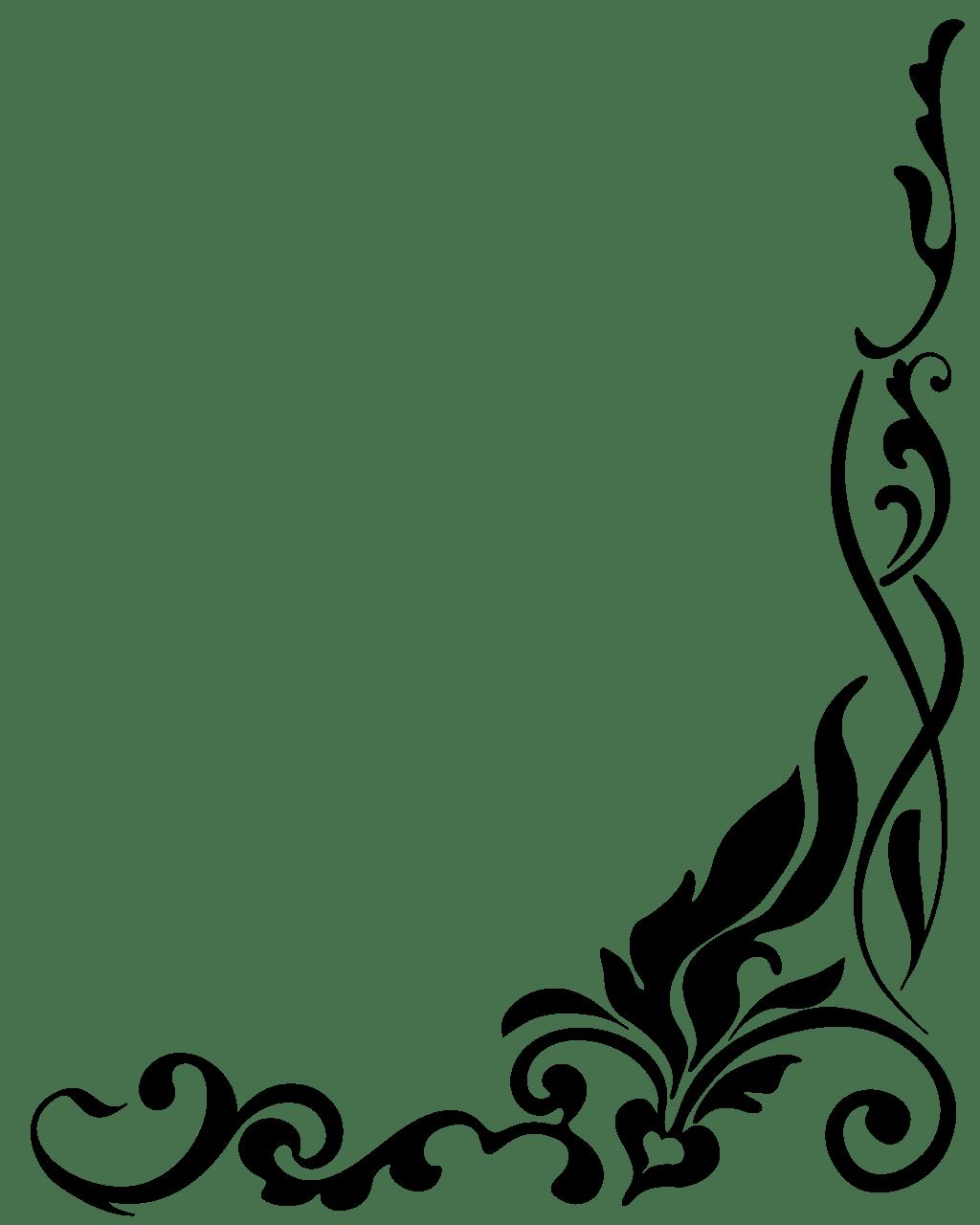 Free Clipart Line Draw Corner