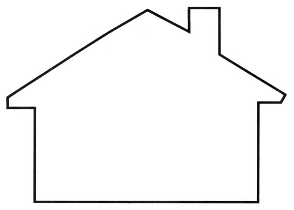 house template - clipart